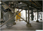 Dense phase pneumatic conveying (fluid bed boiler)  - Dae-gu, Korea