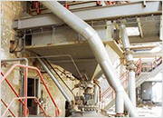 Combination of airslide & dense phase pneumatic ash handling (coal fired fluid bed boiler) - Hodonin, Czech Republic