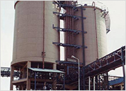 2x800m3 fly ash storage silo - Neyveli Lignite Corporation (2x215MW), India