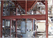 Fly ash dense phase pneumatic conveying (50MW biomass fired unit) - Pecs, Hungary