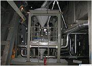 conveying pressure vessel under the flue gas duct - Kolubara, Serbia